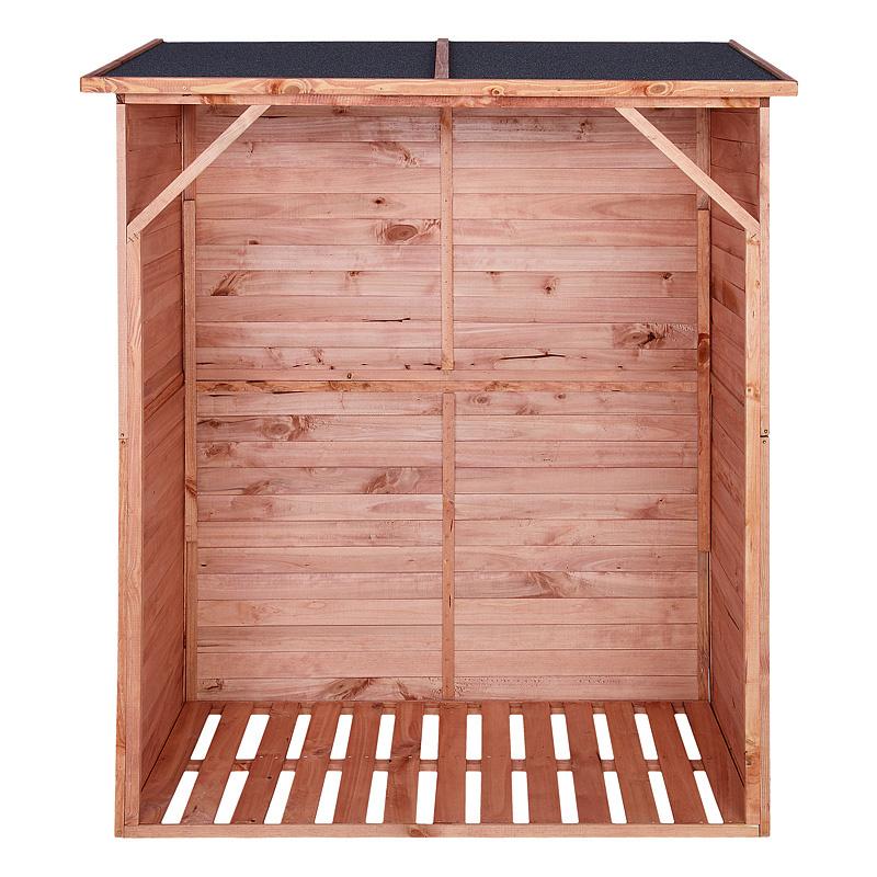 kaminholzregal brennholzregal kaminholzunterstand brennholzunterstand 162x128cm ebay. Black Bedroom Furniture Sets. Home Design Ideas