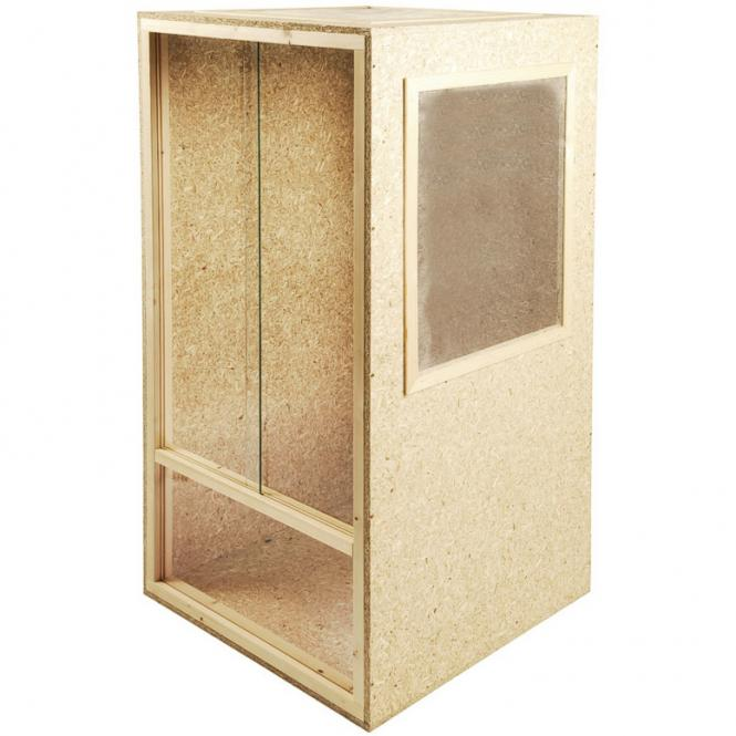 holz terrarium holzterrarium hochterrarium 60x150x60 cham leon schlange reptil ebay. Black Bedroom Furniture Sets. Home Design Ideas