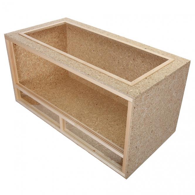 holz terrarium 100x60x60cm holzterrarium f r schildkr ten landschildkr ten ebay. Black Bedroom Furniture Sets. Home Design Ideas