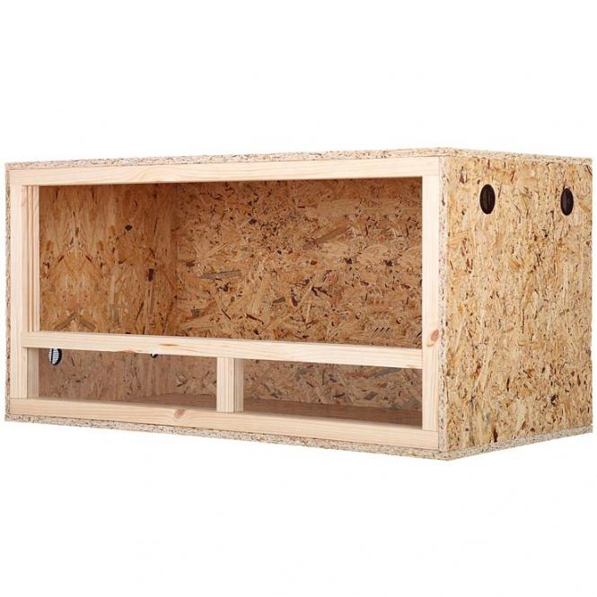 holz terrarium 120 x 60 x 60 osb platte holzterrarium schlange reptilien ebay. Black Bedroom Furniture Sets. Home Design Ideas